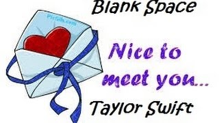 Blank space - Taylor Swift cover full song