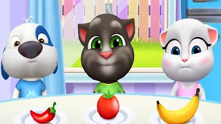 My Talking Tom Friends (by Outfit7) Gameplay Walkthrough - Part 18 (ios,Android)