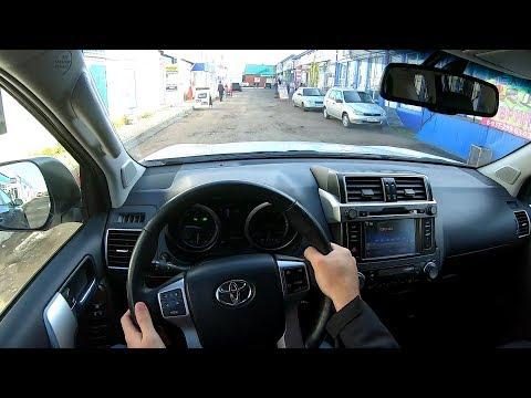 2015 Toyota Land Cruiser Prado 2.8 D-4D (177) POV TEST DRIVE