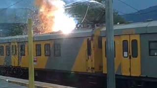 Kurzschluss bei einem Zug