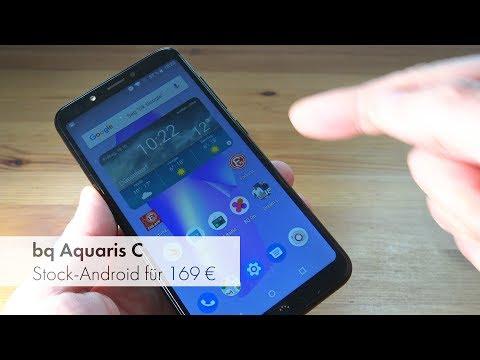 bq Aquaris C | Einsteiger-Smartphone mit USB-C und Stock-Android im Test