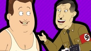 hitler his robot unicorn teleporting fat guy 7
