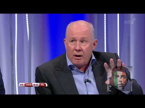 Denmark 0-0 Ireland post match analysis HD Dunphy, Brady, Duff