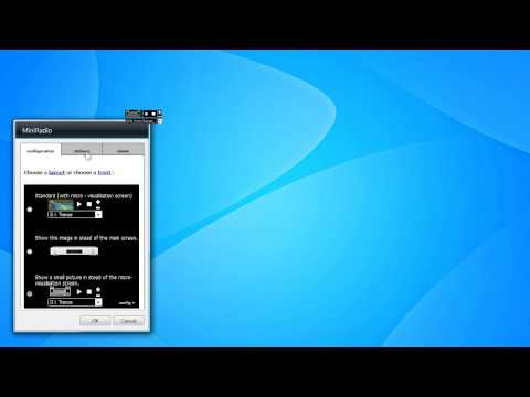 MiniRadio Gadget for Windows 7