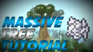 Minecraft - Massive Tree with Bonemeal Trick (Tutorial)