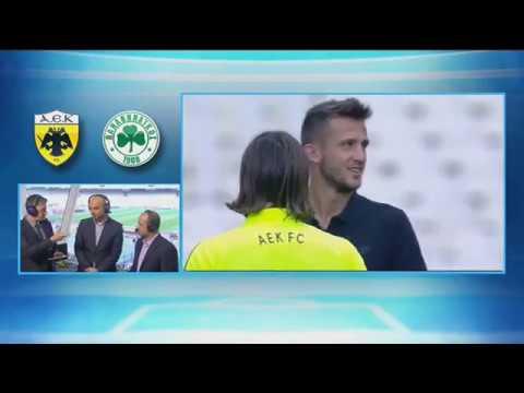 LIVE pre-game: ΑΕΚ - Παναθηναϊκός (3η αγ. Play Offs Super League)