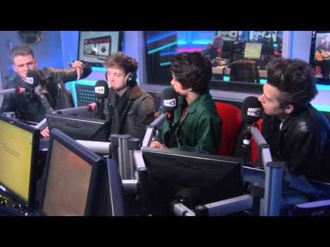 The Vamps Vodafone Big Top 40 Webchat - Sunday 19th January 2014