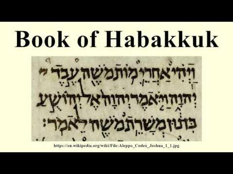 Book of Habakkuk