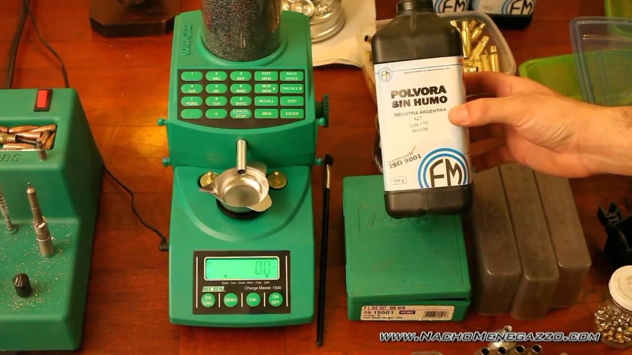 Recarga de municiones 308 mi antigua forma de recargar for Como echar gotele sin maquina