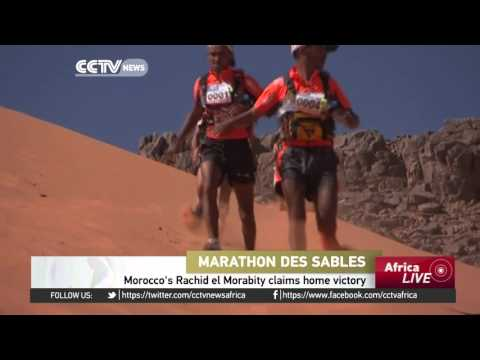 Marathon Des Sables: Morocco's Rachid El Morabity claims home victory
