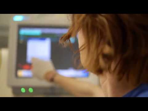 Hospital 07 - Doctor Activating Monitor / Free Stock Footage