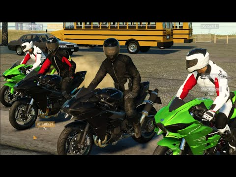 The Crew - We're MotoVloggers NOW LOL LC w/RisingDrift