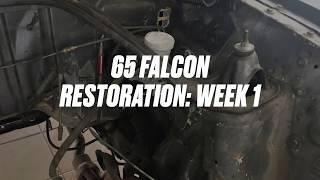 1965 Falcon restoration week 1