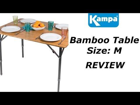 Kampa Bamboo Table M