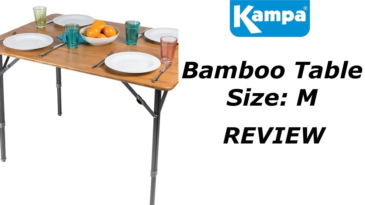Kampa Bamboo Table M