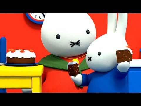 Miffy | Grandma's Pear Cake! | New Series! | Miffy's Adventures Big & Small | Full Episodes