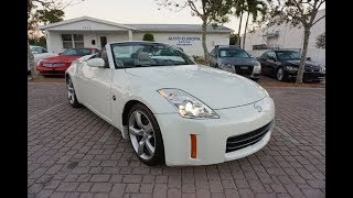 This 2006 Nissan 350Z Grand Touring Roadster is a worthy descendant of the original Datsun 240Z