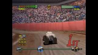 Monster Trux Extreme: Arena Edition (PS2 Gameplay)