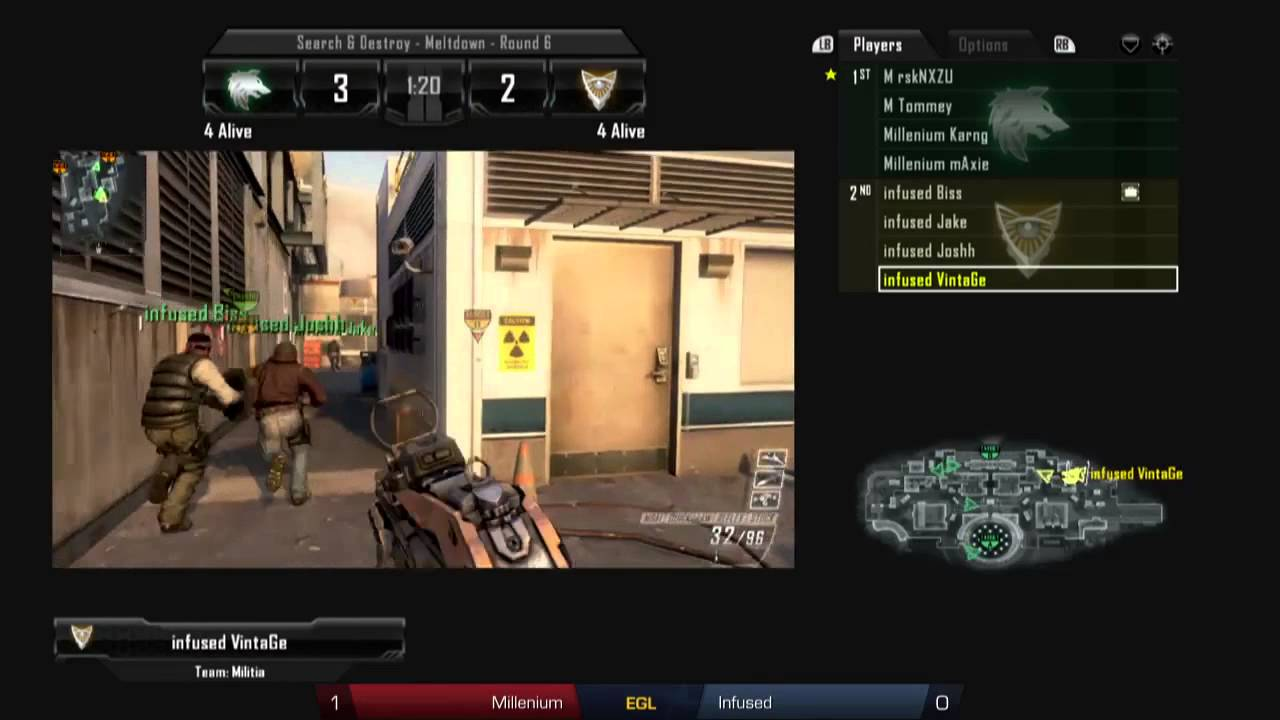Millenium vs Infused - Grand Final - Call of Duty Black Ops