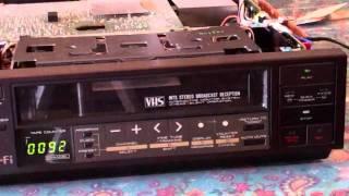 Akai VS-616UM VHS VCR Preview
