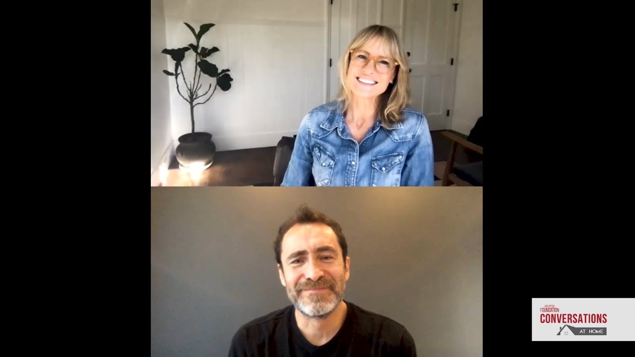 Download Conversations at Home with Robin Wright and Demián Bichir of LAND
