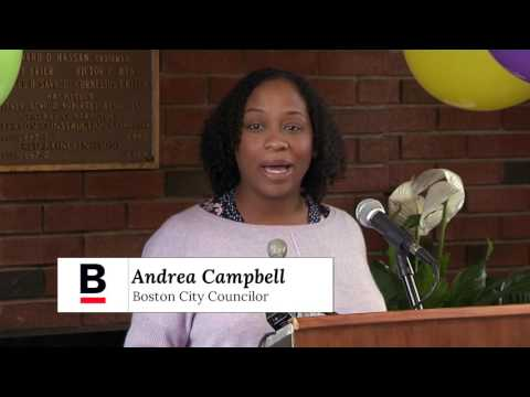 Juanda Drumgold Community Center Dedication