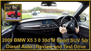 Virtual Video Test Drive in our BMW X5 3 0 30d M Sport SUV 5dr Diesel Auto