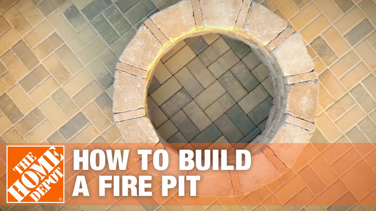 How To Build A Fire Pit The Home Depot