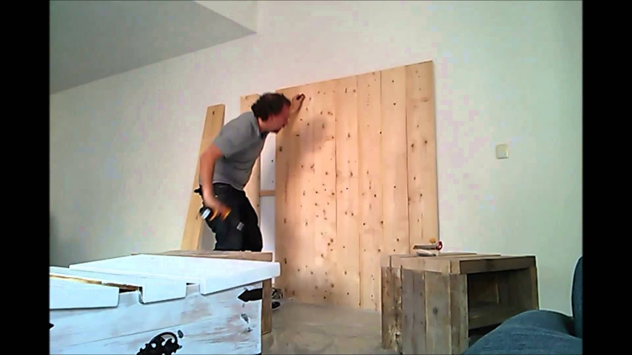 montage van tv wand youtube. Black Bedroom Furniture Sets. Home Design Ideas