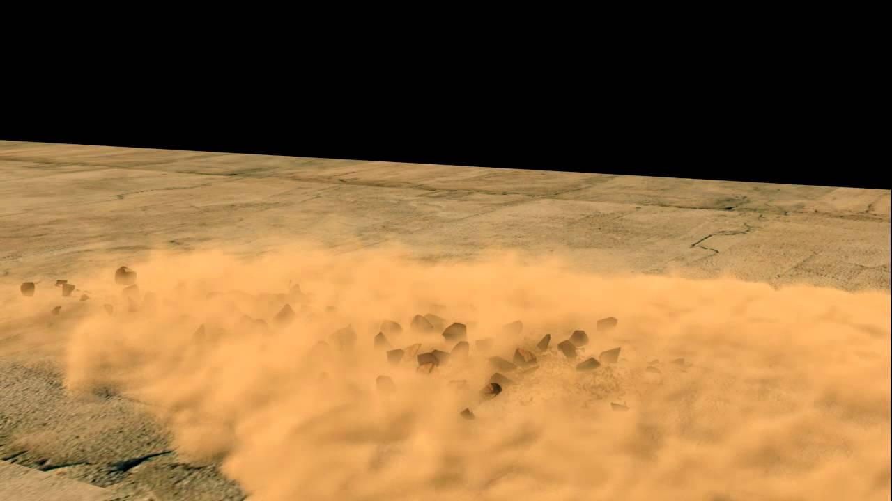 3ds max debris and dust simulation