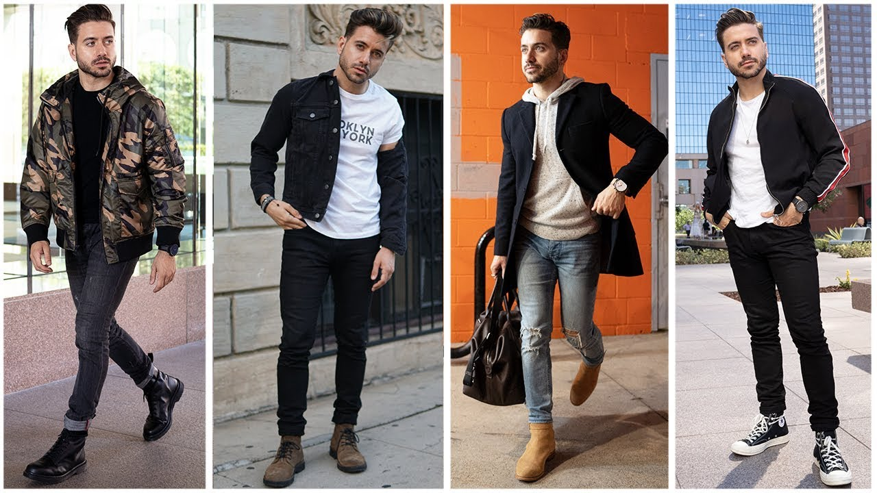 4 Easy Fall Outfits for Men | Men's Fashion Inspiration Lookbook | Alex Costa 6