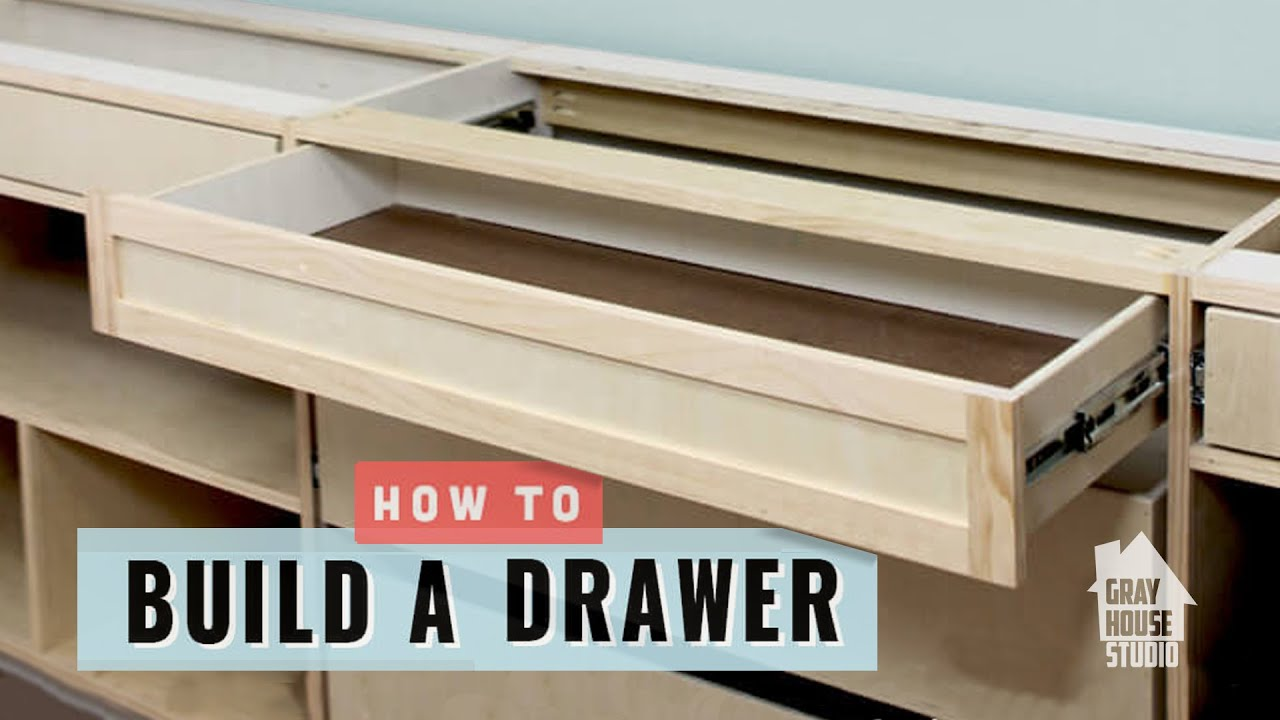 Bon How To Build A Drawer   YouTube