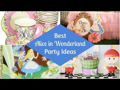 Best Alice in Wonderland Party Ideas