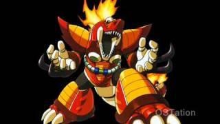 Mega Man X5 OST  T17  Mattrex   Burn Dinorex Stage Volcanic Inferno ~ Red Hot World!
