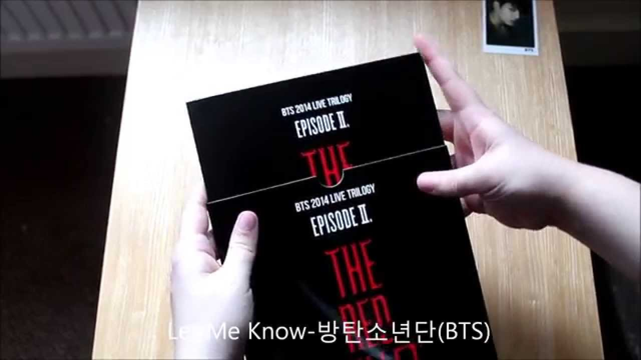 BTS Red Bullet Program Book Unboxing YouTube