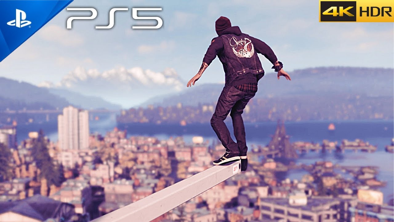 (PS5) inFAMOUS Second Son Gameplay | Ultra High Realistic Graphics [4K HDR 60fps]