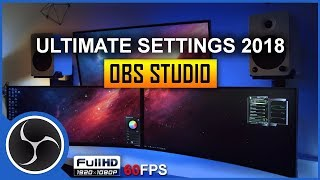 Best OBS Studio Recording Settings for High Definition with 60fps in 1080p