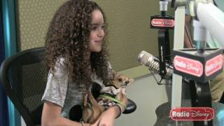 """Madison Pettis on Playing the Voice of Lala from """"Beverly Hills Chihuahua 2"""" on Radio Disney"""