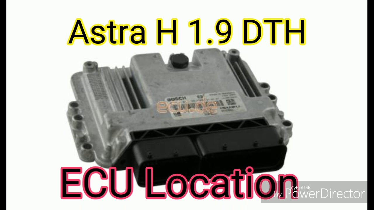 ECU OPEL ASTRA J 1.3 CDTI - 90CV: ECU elaboration and ...