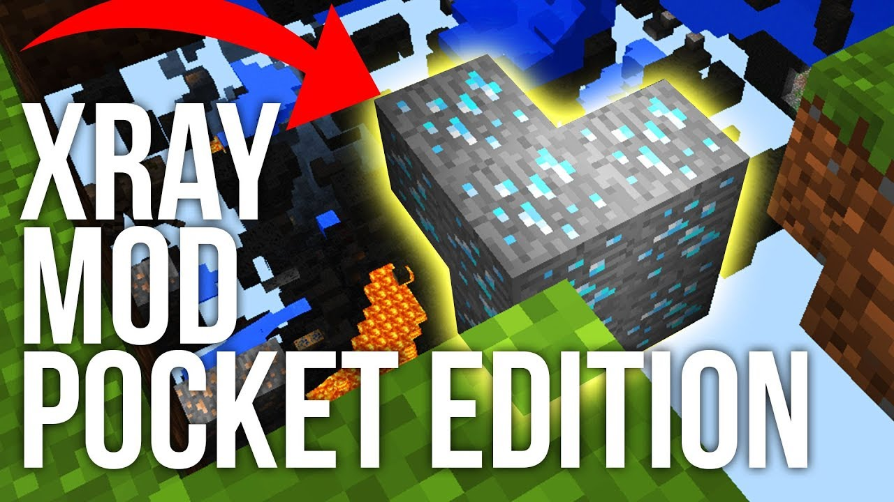 How to Use an X-Ray Mod in Minecraft Pocket Edition