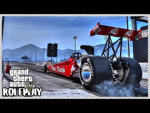 GTA 5 Roleplay - 'MASIVE' Top Fuel DRAGSTER Crash | RedlineRP #609