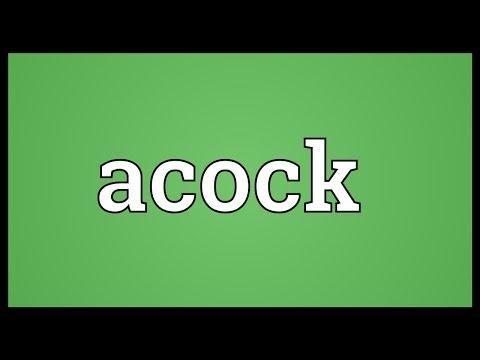 Header of acock