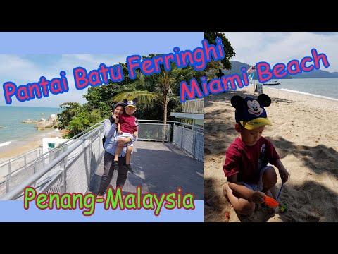 wisata-gratis-di-penang//-pantai-batu-ferringhi-&-miami-beach-penang-malaysia
