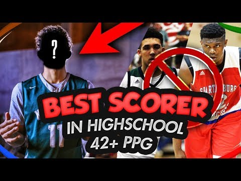 42 POINTS PER GAME!? Best SCORER In High School? BETTER Ppg Than LIANGELO BALL & ZION WILLIAMSON!