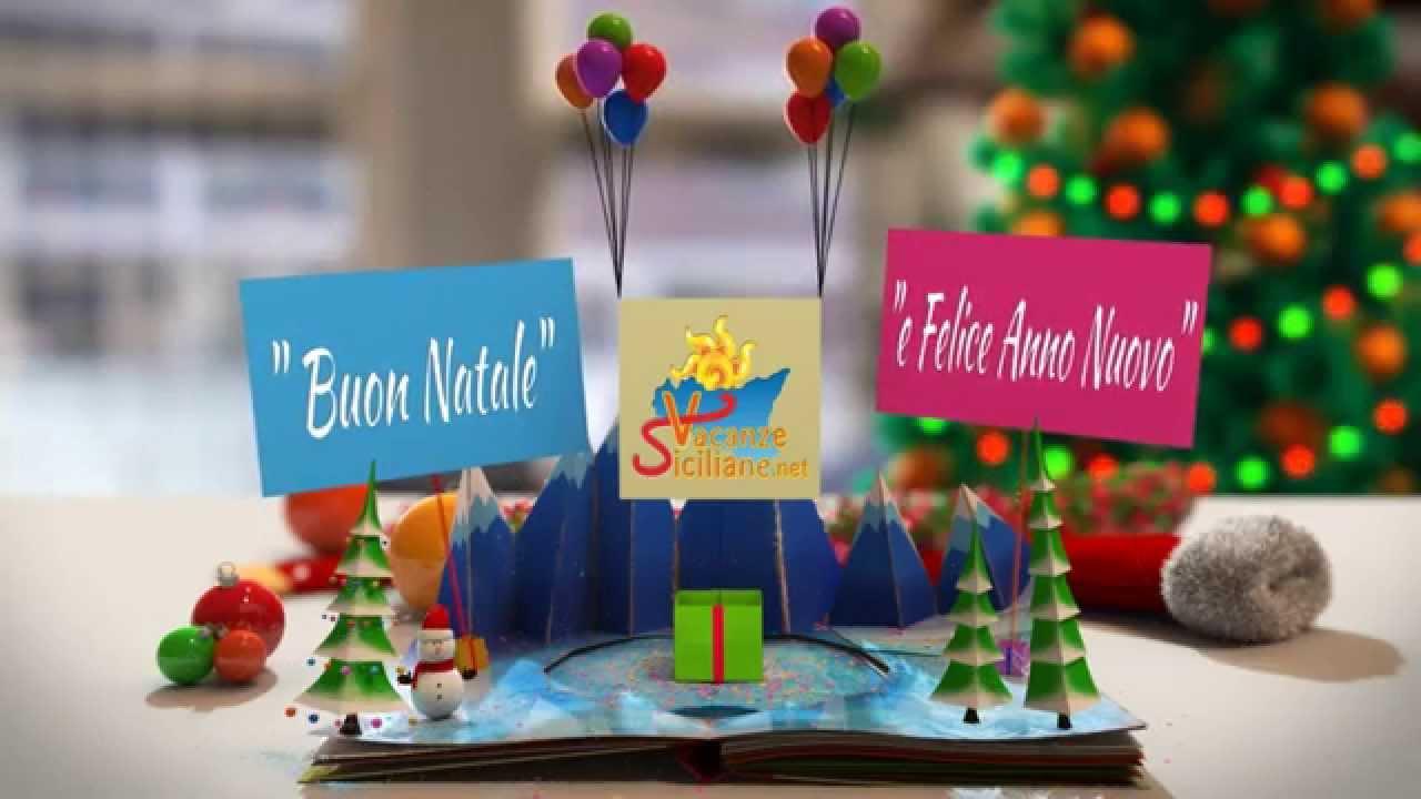 Auguri Di Natale In Dialetto Siciliano.Buon Natale In Sicilia Vacanze Siciliane Net 2014 Youtube
