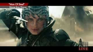 huffpost live chris meloni s new role in man of steel faora vs colonel hardy excerpt