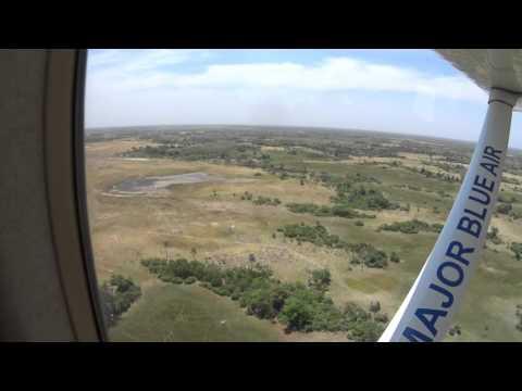 Scenic flight Okavango Delta Botswana 1/2