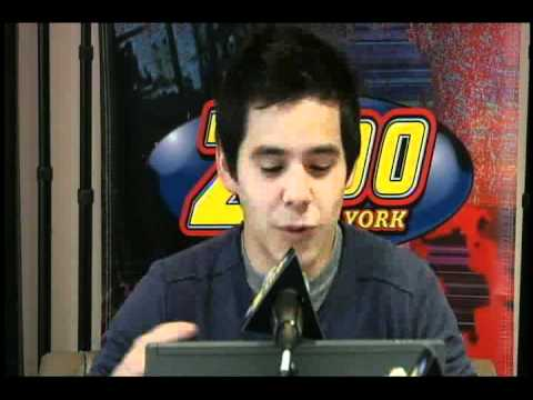 23-23a David Archuleta @ NY Z100 Live Chat! Part 1 Of 3  (05 Oct 2010)