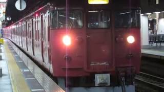 七尾線415系金沢駅発車※発車メロディーあり
