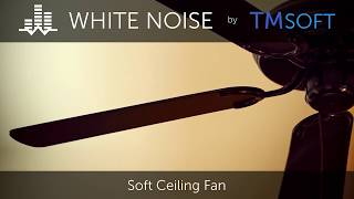 Soft Ceiling Fan 10 Hour Sleep Sound - Black Screen